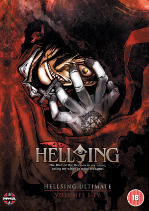 Hellsing Ultimate: Parts 1-4 Collection (2011) (Deleted)