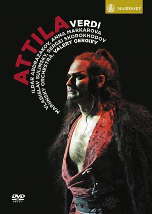 Attila: Mariinsky Orchestra (Gergiev) (2013) (Retail / Rental)