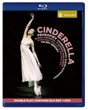Cinderella: Mariinsky Ballet (2013) (Blu-ray) (with DVD - Double Play) (Retail / Rental)