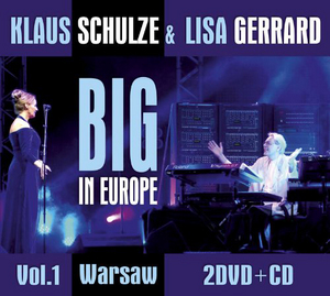 Klaus Schulze and Lisa Gerrard: Big in Europe - Warsaw (2009) (with CD) (Retail Only)