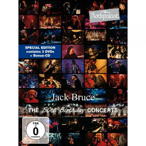Jack Bruce: The 50th Birthday Concerts (1993) (with CD) (Retail Only)