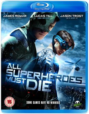 All Superheroes Must Die (2011) (Blu-ray) (Retail / Rental)