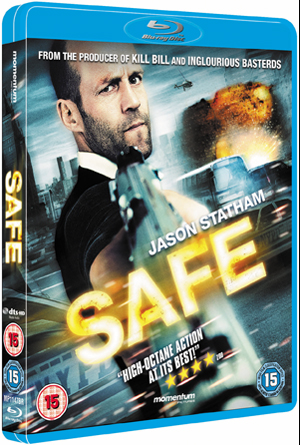 Safe (2012) (Blu-ray) (Retail / Rental)