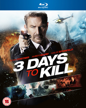 3 Days to Kill (2014) (Blu-ray) (Retail / Rental)