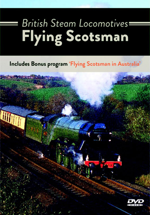 British Steam Locomotives: Flying Scotsman (Retail Only)