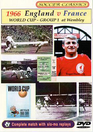 1966 World Cup: England V France - Group 1 at Wembley (1966) (Retail / Rental)