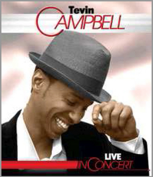 Tevin Campbell: Live in Concert (2013) (Blu-ray) (Retail / Rental)