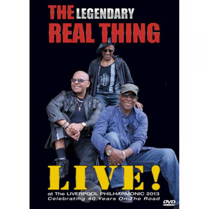 The Real Thing: Live at the Liverpool Philharmonic 2013 (2013) (Retail Only)