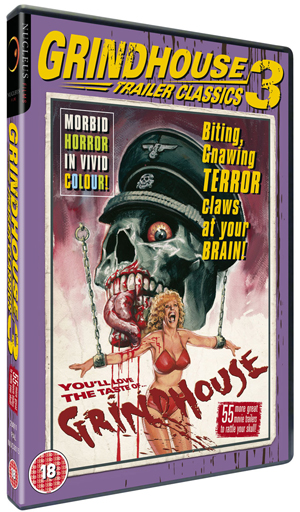 Grindhouse Trailer Classics: Volume 3 (2011) (Retail / Rental)