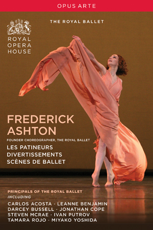 Frederick Ashton: Les Patineurs/Divertissement/Scènes De Ballet (Retail / Rental)