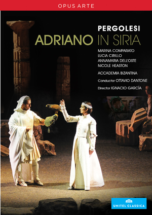 Adriano in Syria: Teatro Comunale Pergolesi (Dantone) (2010) (Retail / Rental)