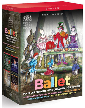 Ballet for Children: The Royal Ballet (Box Set (NTSC Version)) (Retail / Rental)