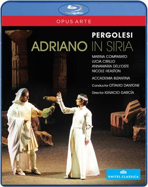 Adriano in Syria: Teatro Comunale Pergolesi (Dantone) (2010) (Blu-ray) (Retail / Rental)