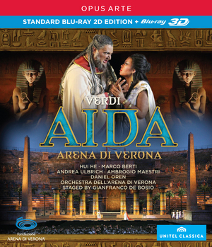 Aida: Arena Di Verona (Oren) (2012) (Blu-ray) (3D Edition with 2D Edition) (Retail Only)