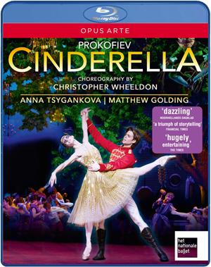 Cinderella: Dutch National Ballet (Florio) (2012) (Blu-ray) (Retail / Rental)