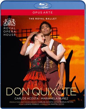 Don Quixote: Royal Ballet (2013) (Blu-ray) (Retail / Rental)