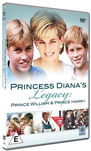 Princess Diana's Legacy - Prince William and Prince Harry (1998) (Retail / Rental)