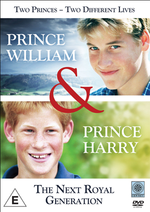 Prince William and Prince Harry: The Next Royal Generation (1998) (Retail / Rental)