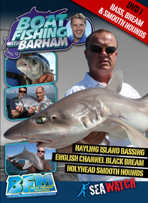 Boat Fishing With Barham: Bass, Bream and Smooth Hounds (Retail / Rental)