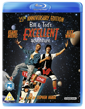 Bill and Ted's Excellent Adventure (1988) (Blu-ray) (Retail / Rental)