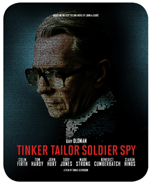 Tinker Tailor Soldier Spy (2011) (Blu-ray) (with DVD - Double Play Steelbook) (Retail Only)