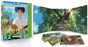 Arrietty (2010) (Blu-ray) (with DVD (Collector's Edition) - Double Play) (Retail Only)