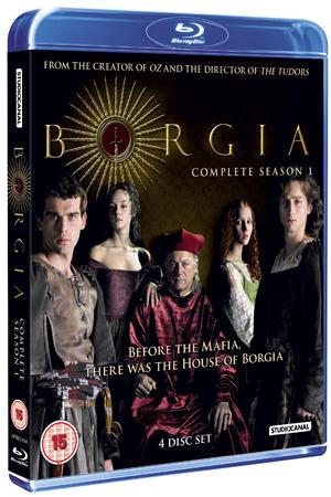 Borgia: Complete Season 1 (2011) (Blu-ray) (Box Set) (Retail / Rental)