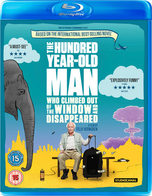 The 100-year-old Man Who Climbed Out the Window and Disappeared (2013) (Blu-ray) (Retail / Rental)