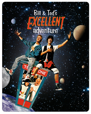Bill and Ted's Excellent Adventure (1988) (Blu-ray) (Digitally Restored (Steel Book)) (Retail Only)