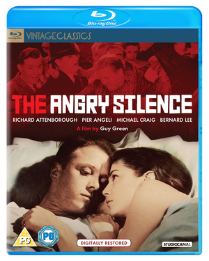 The Angry Silence (1960) (Blu-ray) (Digitally Restored) (Retail / Rental)