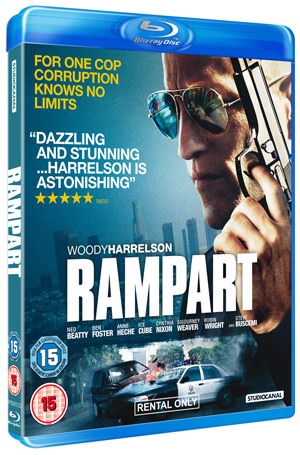 Rampart (2011) (Blu-ray) (Rental)