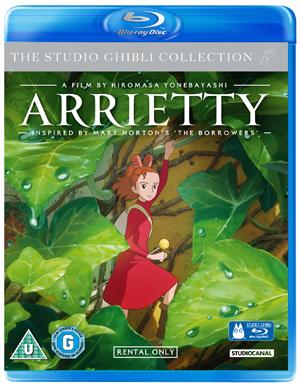 Arrietty (2010) (Blu-ray) (Rental)