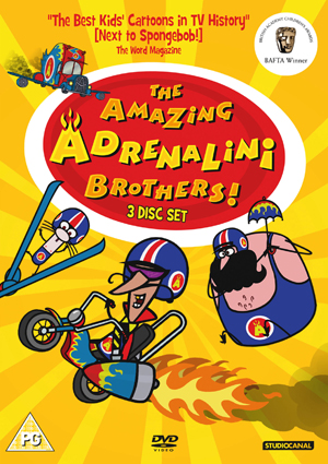 The Amazing Adrenelini Brothers (2006) (Box Set) (Retail Only)