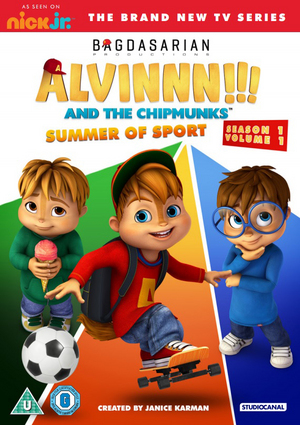 Alvinnn!!! And the Chipmunks: Season 1 Volume 1 - Summer of Sport (2015) (Retail / Rental)