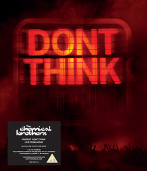 The Chemical Brothers: Don't Think (2011) (Blu-ray) (with Audio CD) (Retail / Rental)