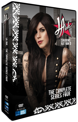 LA Ink: Series 4 (2011) (Retail / Rental)