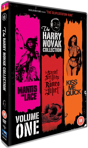 The Harry Novak Collection: Volume 1 (1969) (Box Set) (Deleted)