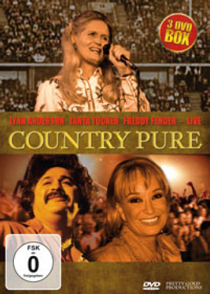 Country Pure: Lynn Anderson, Tanya Tucker, Freddy Fender - Live (Retail / Rental)