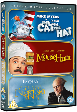 The Cat in the Hat/Mousehunt/A Series of Unfortunate Events (2004) (Box Set) (Retail Only)