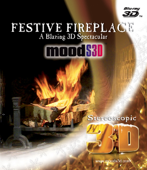 Festive Fireplace (2011) (Blu-ray) (3D Edition with 2D Edition) (Retail / Rental)