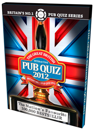 The Great British Pub Quiz 2012 (2011) (Interactive) (Retail / Rental)