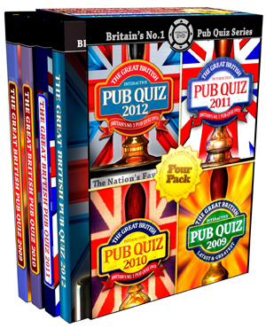 The Great British Pub Quiz Collection (2011) (Interactive) (Retail / Rental)
