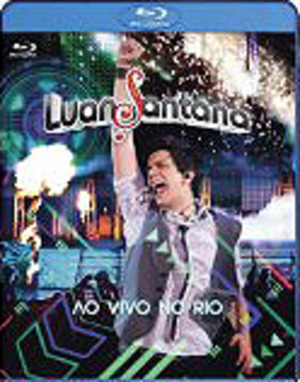 Luan Santana - Ao Vivo No Rio (2011) (Blu-ray) (Retail / Rental)