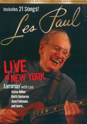 Les Paul: Live in New York (2011) (Retail Only)