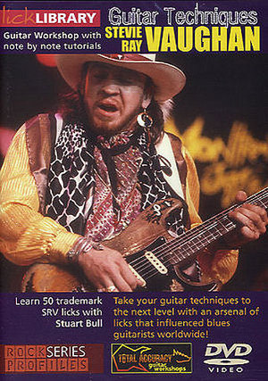 Lick Library: Stevie Ray Vaughan - Guitar Techniques (Retail Only)