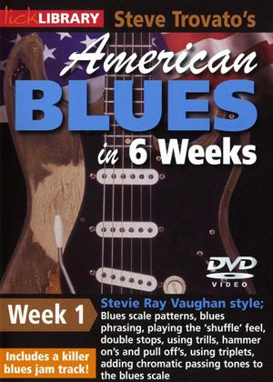 American Blues Guitar in 6 Weeks: Week 1 - Stevie Ray Vaughan (2011) (Retail / Rental)