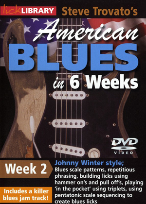 American Blues Guitar in 6 Weeks: Week 2 - Johnny Winter (2011) (Retail / Rental)