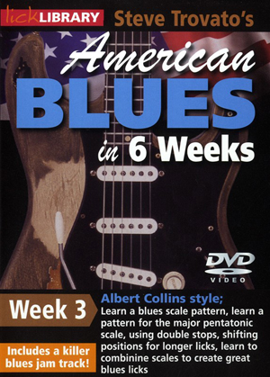 American Blues Guitar in 6 Weeks: Week 3 - Albert Collins (2011) (Retail / Rental)
