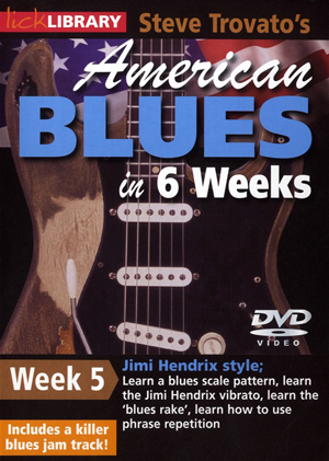 American Blues Guitar in 6 Weeks: Week 5 - Jimi Hendrix (2011) (Retail / Rental)