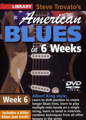 American Blues Guitar in 6 Weeks: Week 6 - Albert King (2011) (Retail / Rental)